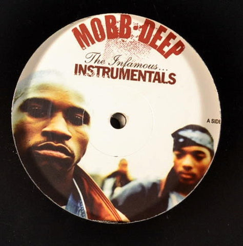 Mobb Deep - The Infamous (Instrumentals) - Not On Label (Mobb Deep) - MOBDJ01 - 2xLP, Comp, Unofficial, Cle