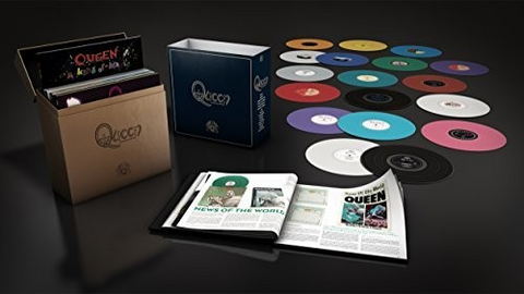 QUEEN: THE STUDIO COLLECTION / SPECIAL EDITION VINYL BOX SET