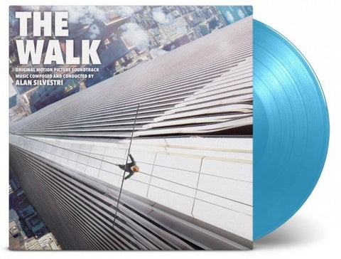 Alan Silvestri ‎– The Walk : Music On Vinyl ‎– MOVATM064 Series: At The Movies – : 2 × Vinyl, LP, Album, Limited Edition, Numbered, Blue
