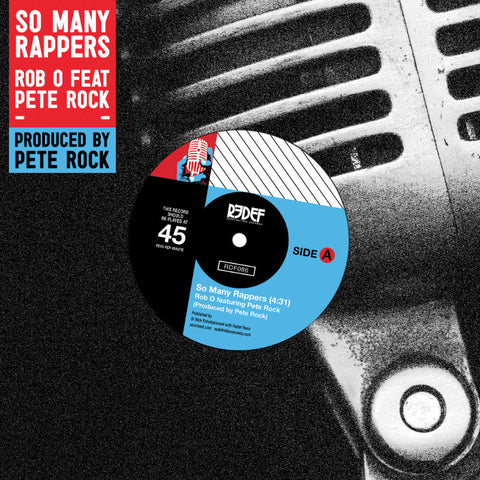 Rob O & Pete Rock - So Many Rappers - Redefinition 086 - 7""