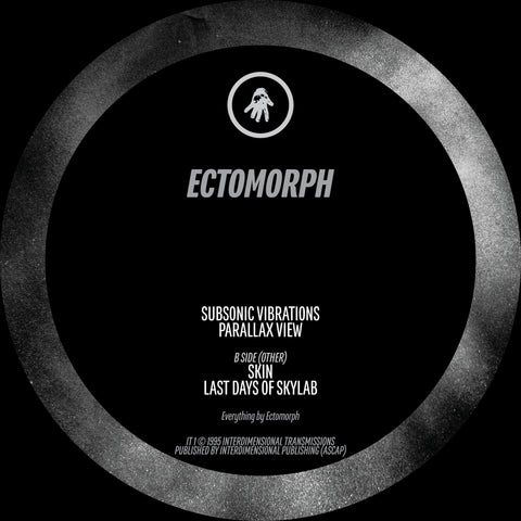 "Ectomorph - Subsonic Vibrations : Interdimensional Transmissions IT-1 - 12"", Vinyl"