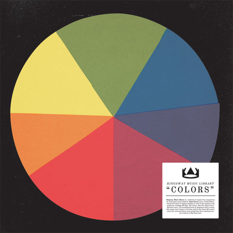 Kingsway Music Library - Colors - Kingsway Music 001 - LP