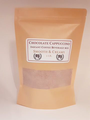 1 lb. Chocolate Cappuccino Instant Coffee Mix