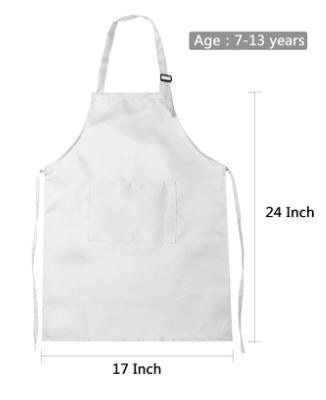 MEDIUM Adjustable Apron with personalization options