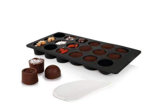 Chocolate Bonbons mold with marble serving slab - (no chocolate included)