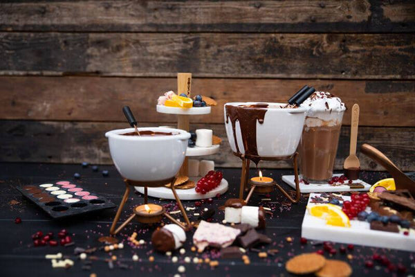 Emily's Choco Fondue set - 8.5 fl oz (250 ml) NO CHOCOLATE INCLUDED
