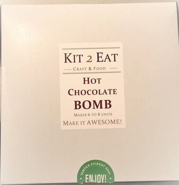 DIY Hot Chocolate Bomb Kit with a personalized FREE apron!