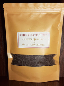 1 lb. Chef's Quality Chocolate Chips (small 4000/lb.)