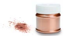 COPPER Metallic edible powders for Decoration - Special Order