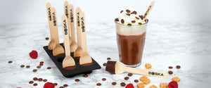 Hot Chocolate Spoon / Stirrers Maker Only / No chocolate included