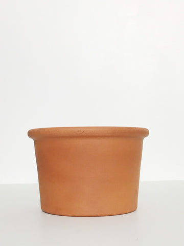 Medium Terracotta Planter w/ Lip