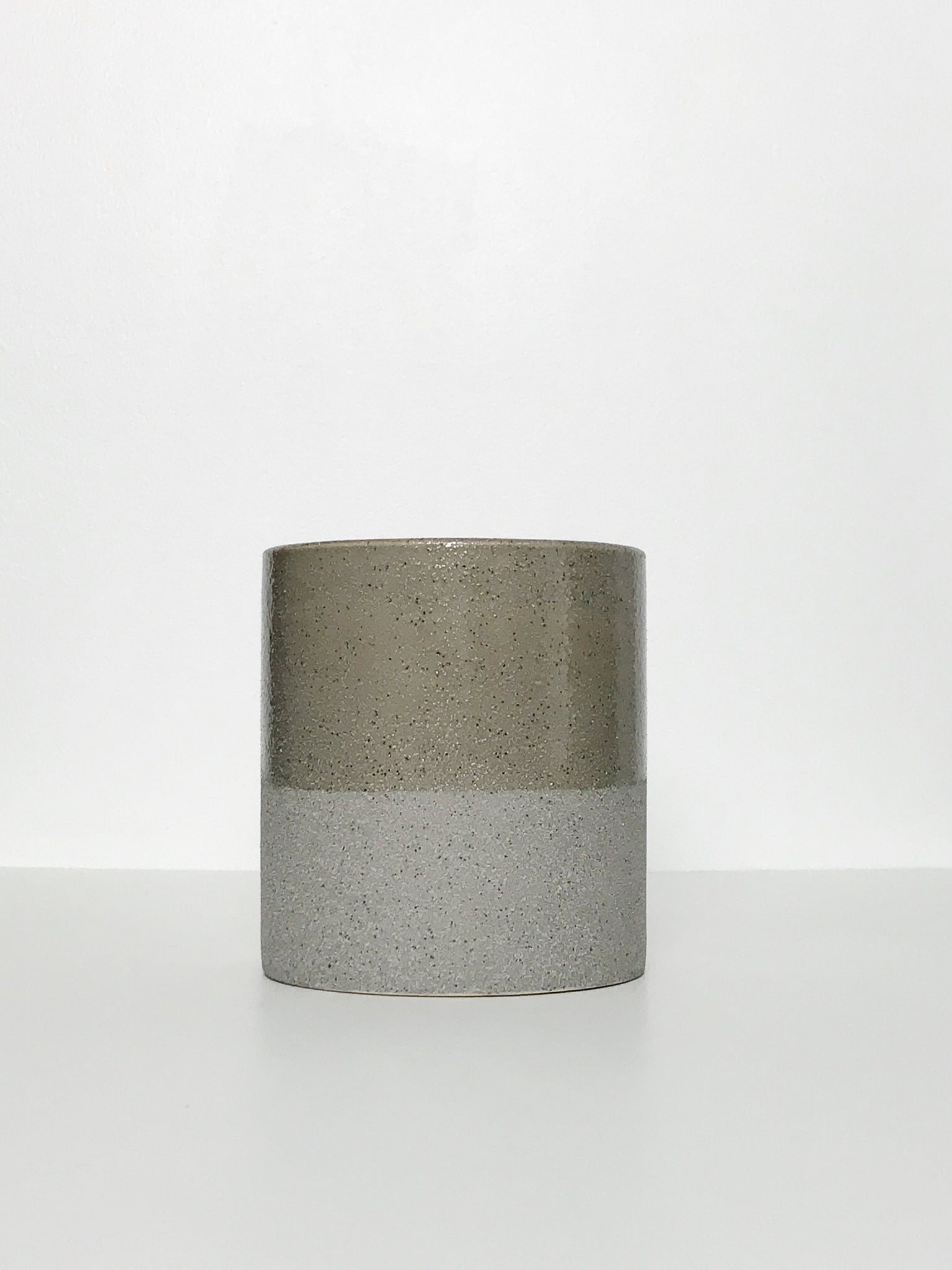 Small Glazed Textured Ceramic Planter