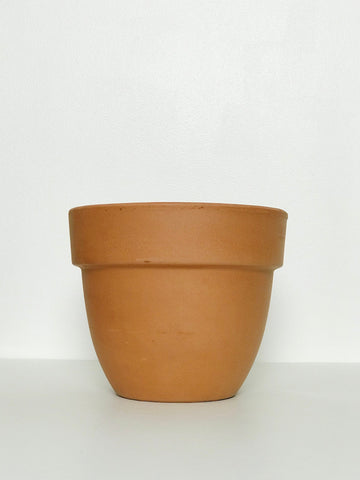 Medium Terracotta Planter w/ Wide Lip