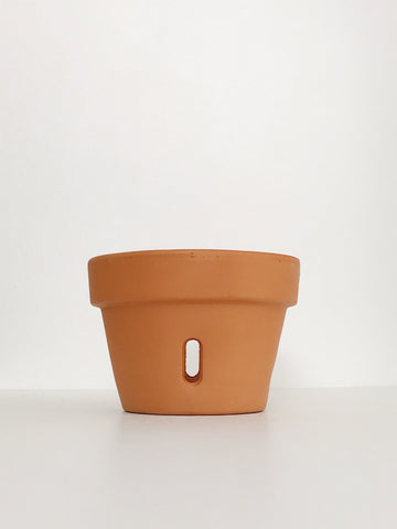 Medium Terracotta Orchid Planter