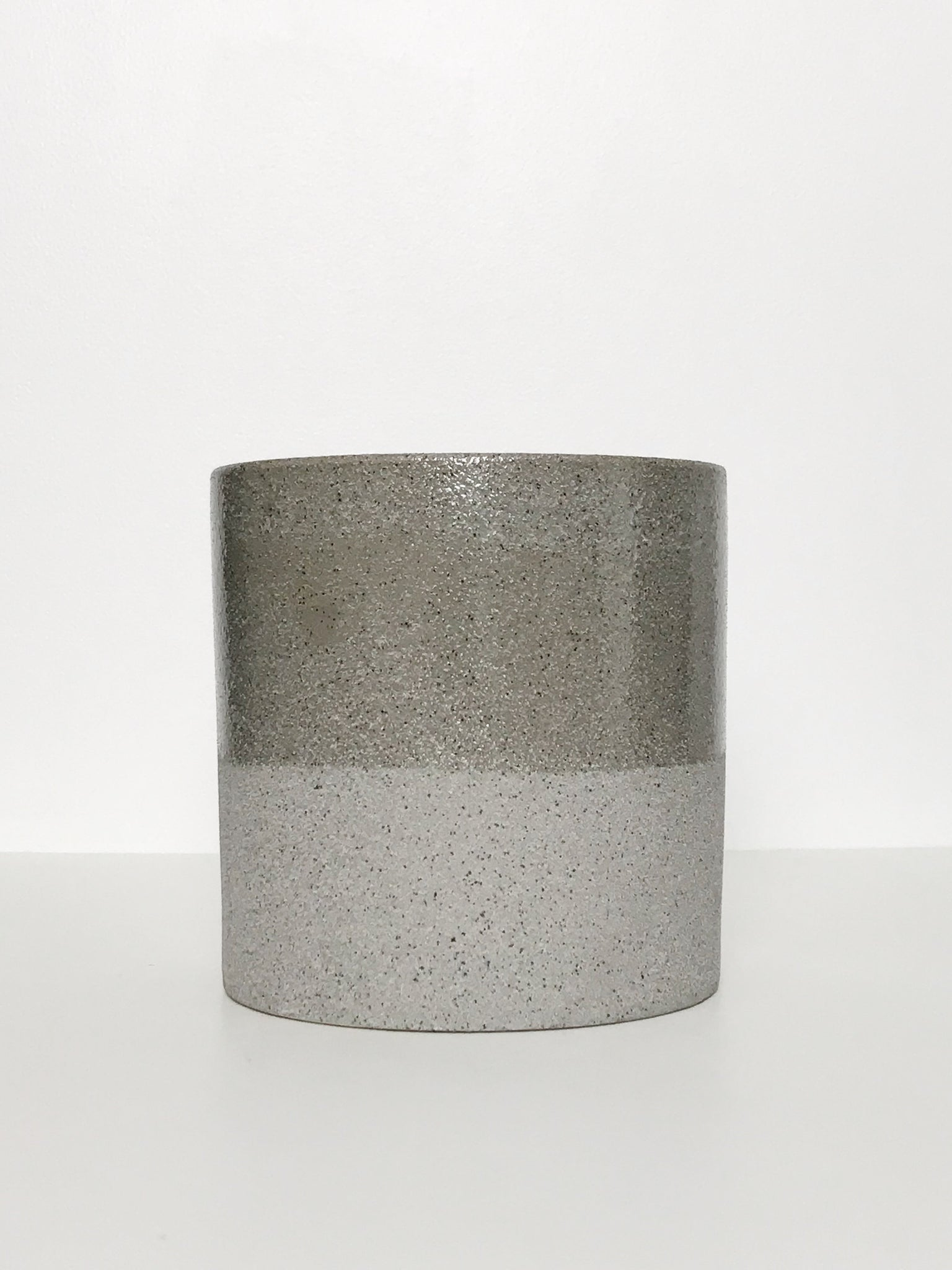 Medium Glazed Textured Ceramic Planter