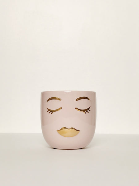 Glazed Face Planter - 2 variations