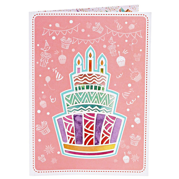 Birthday Pop Up Card Party Explosion Anthea Cards