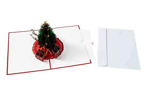 Pop Up Christmas Tree Card Pop Up Christmas Cards Anthea Cards