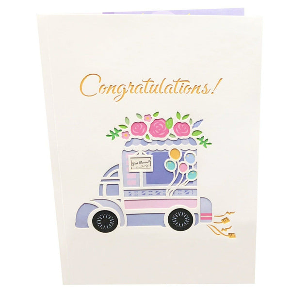 Wedding Pop Up Card Marriage Adventures Anthea Cards