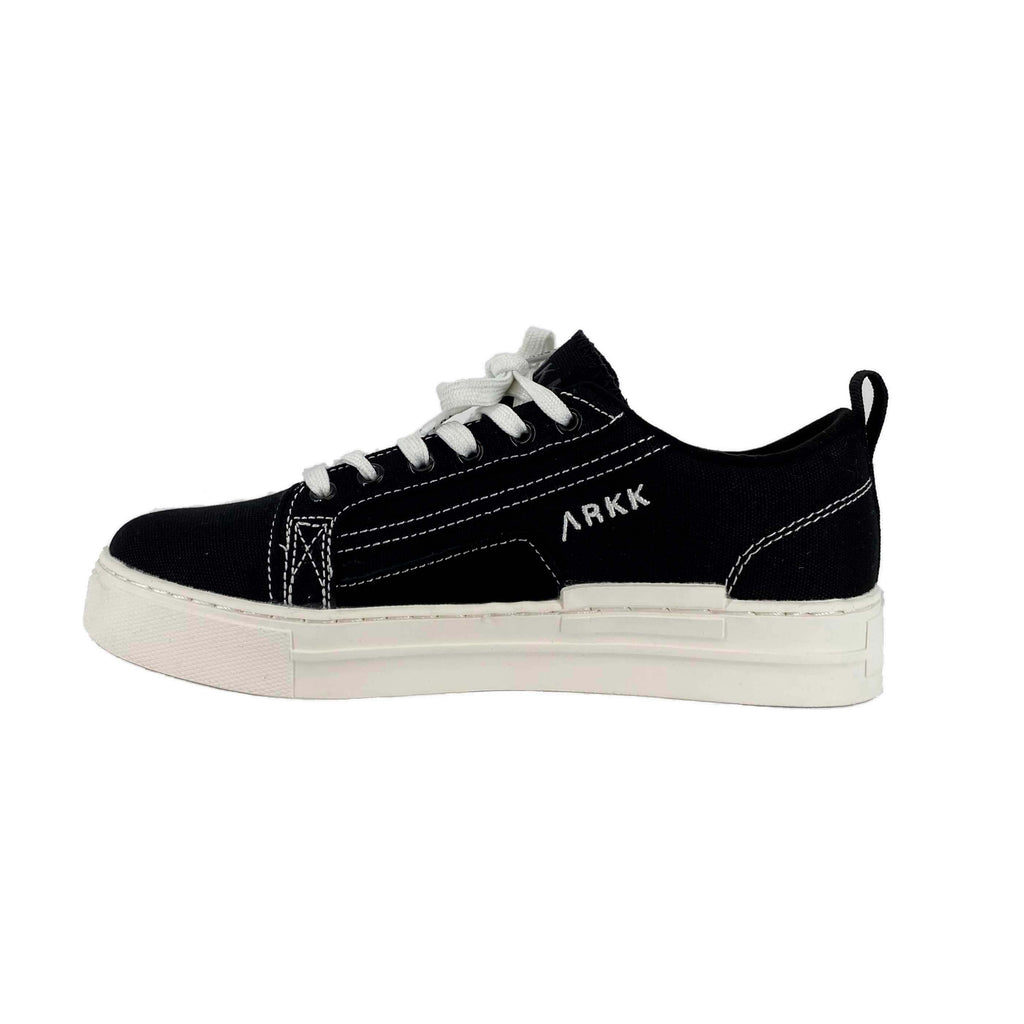 ARKK COPENHAGEN SOMMR CANVAS SNEAKERS SORT