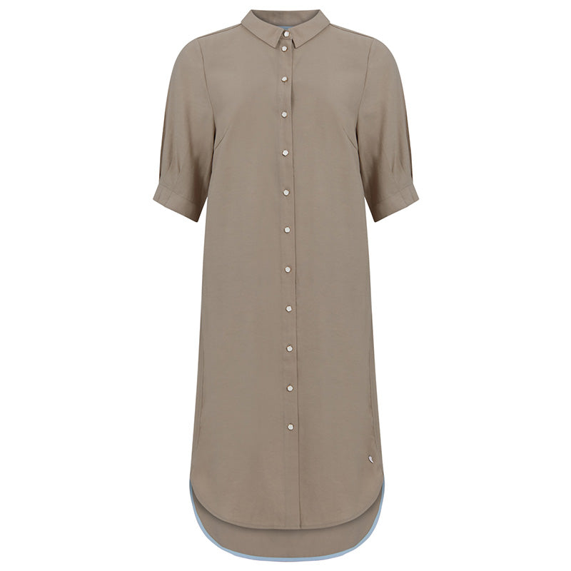 COSTER COPENHAGEN 212-5201 SHIRT DRESS SAND