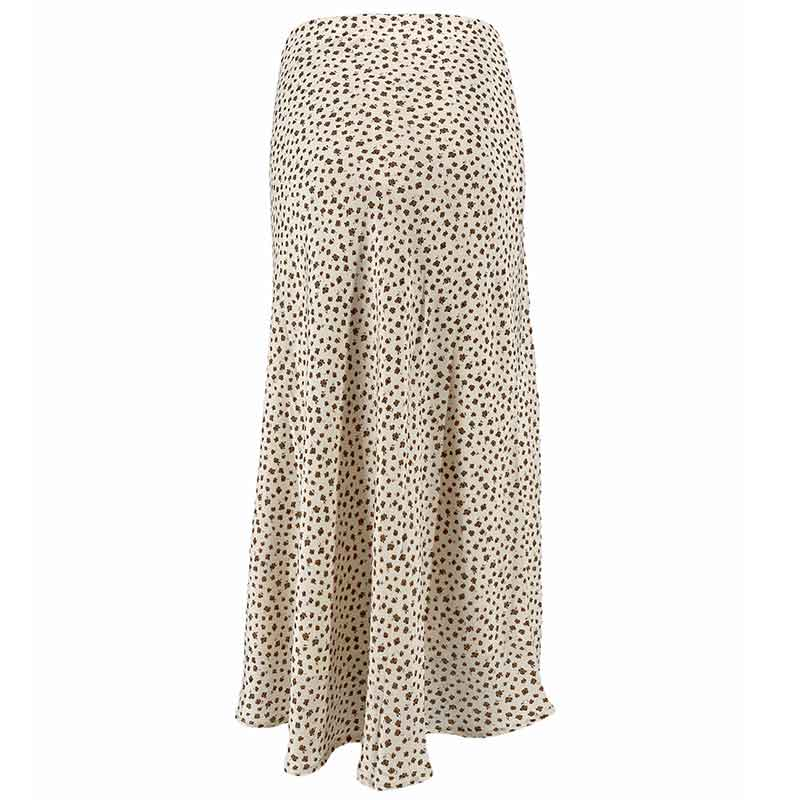NEO NOIR BOVARY GLOOMY FLOWER SKIRT OFF WHITE