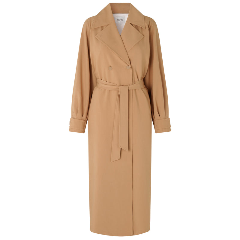 SECOND FEMALE SILVIA NEW TRENCHCOAT SAND