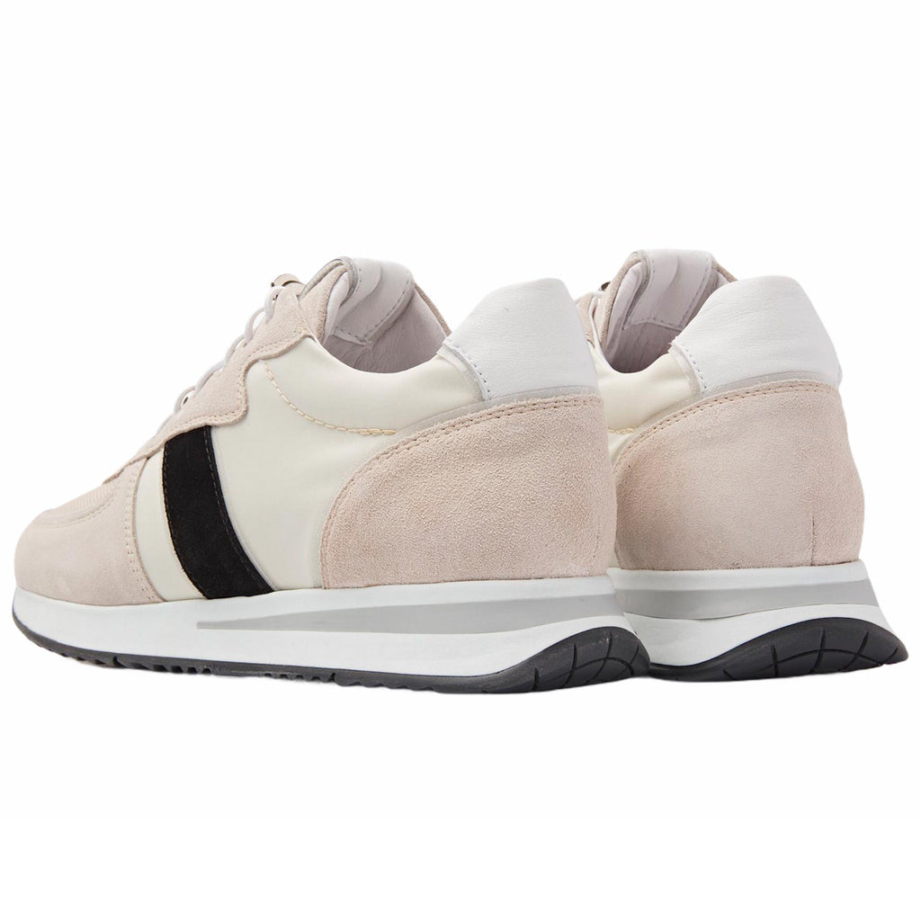 VIA VAI BOMBER SIERRA CREAM NERO SNEAKERS BEIGE