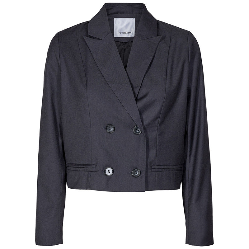 CO COUTURE BIOT CROPPED BLAZER SORT