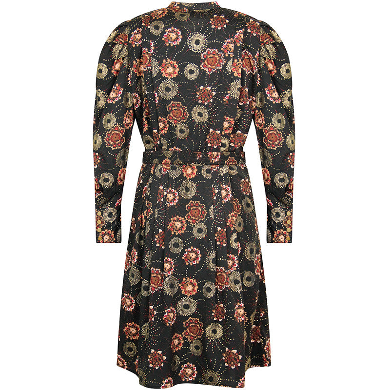 FINE HOPE DRESS RUBI PRINT SORT