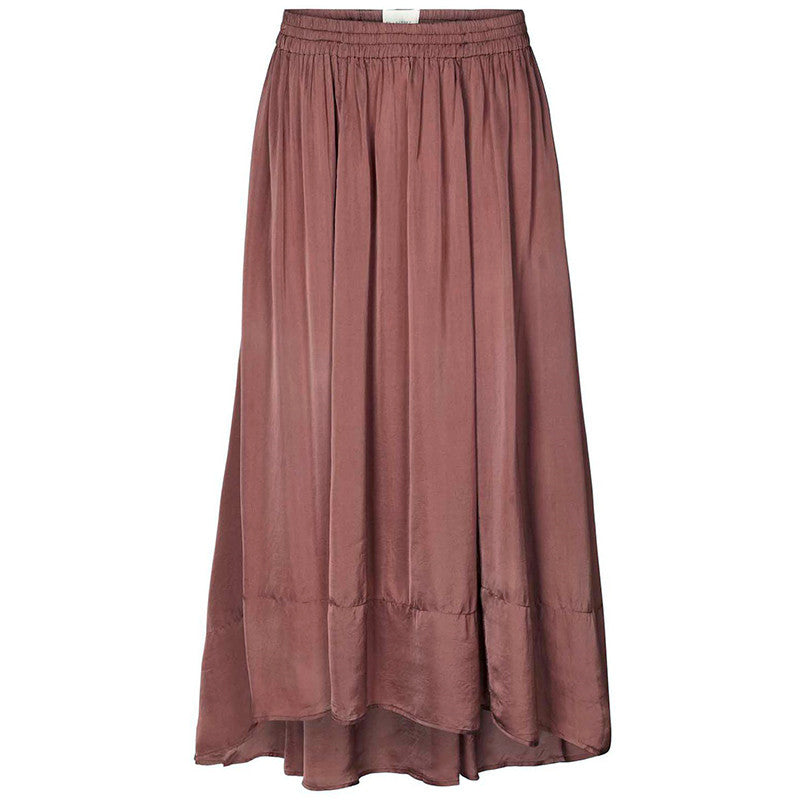 LOLLYS LAUNDRY LIBRA SKIRT BORDEAUX