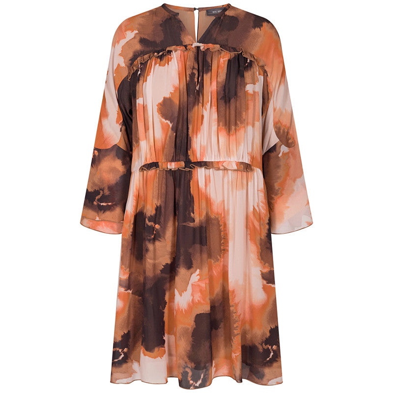 MOS MOSH CIRAH BLUR DRESS PRINT