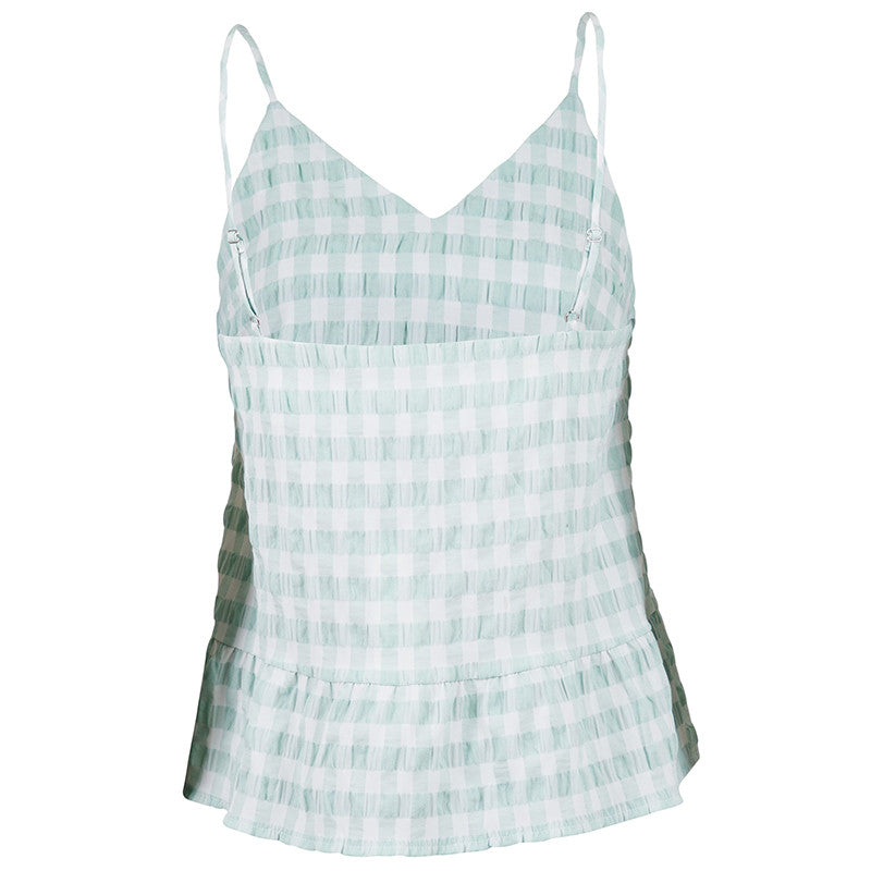 NEO NOIR AIRLIA SUMMER CHECK TOP MINT