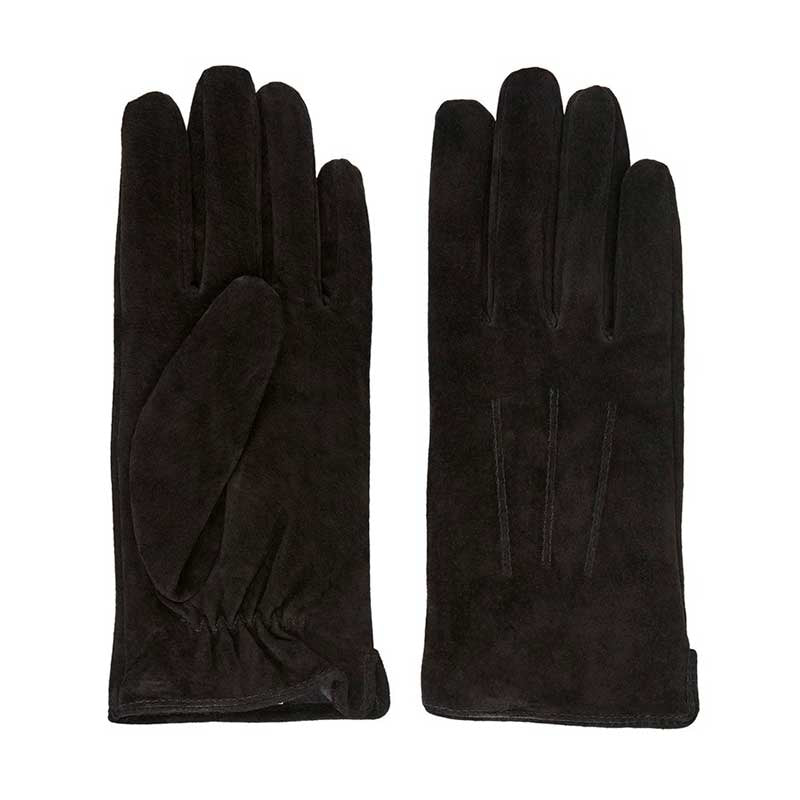 PIECES PCNELLIE SUEDE GLOVES NOOS SORT