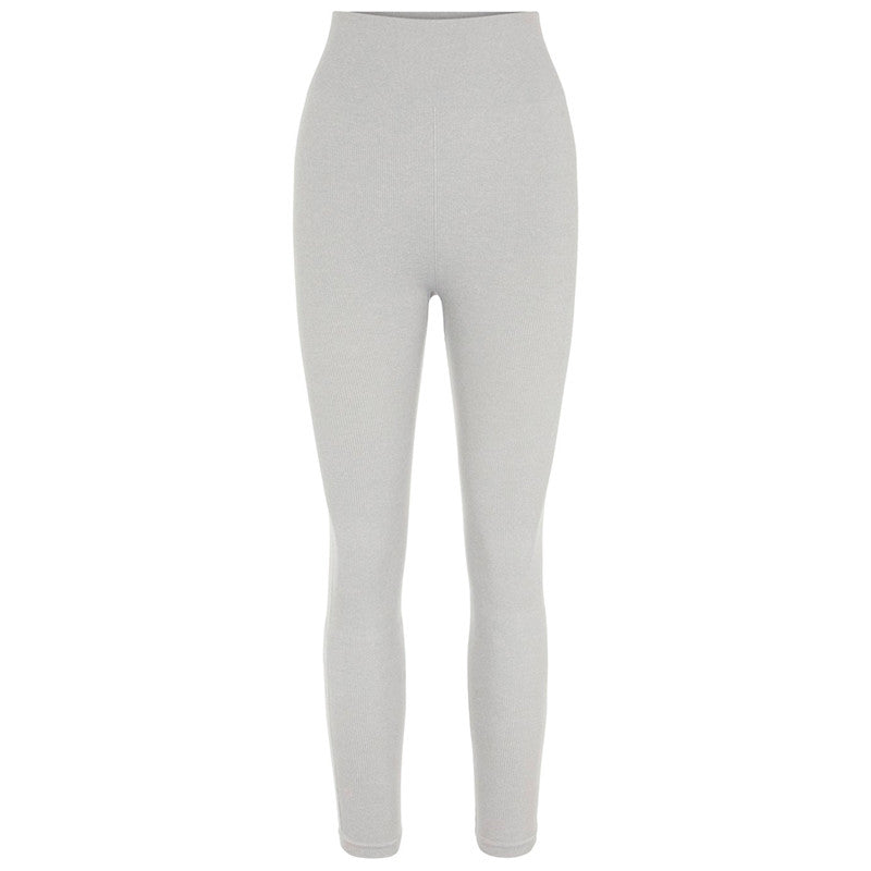 PIECES PCRENNY SEAMLESS LEGGINGS GRÅ