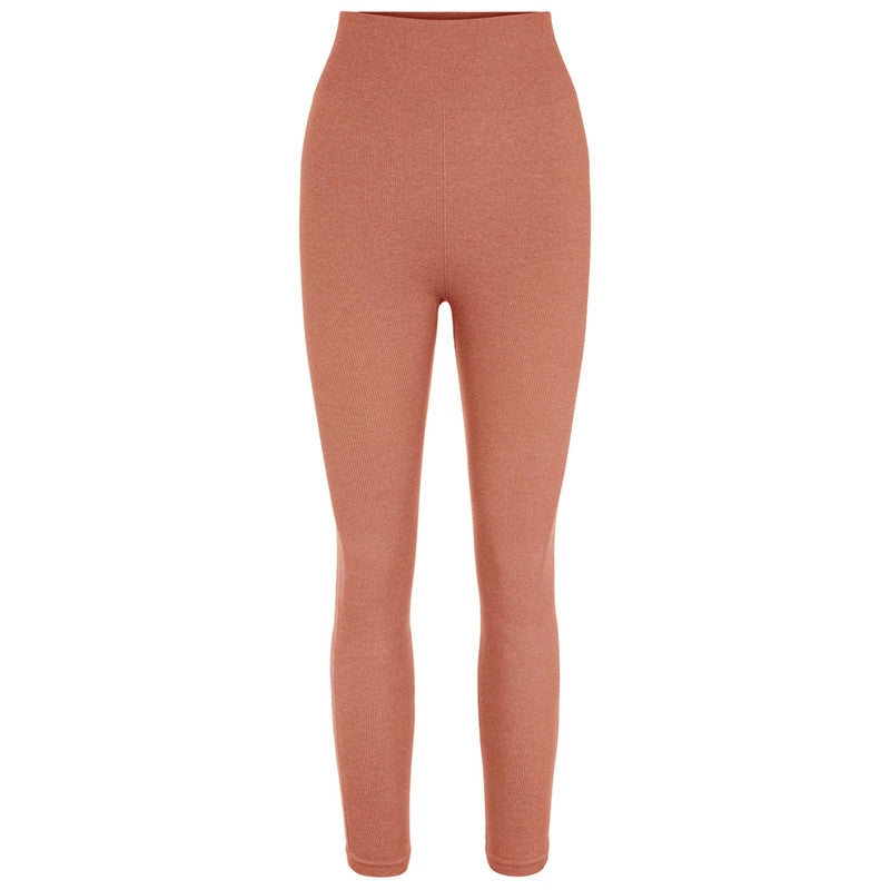 PIECES PCRENNY SEAMLESS LEGGINGS RØD