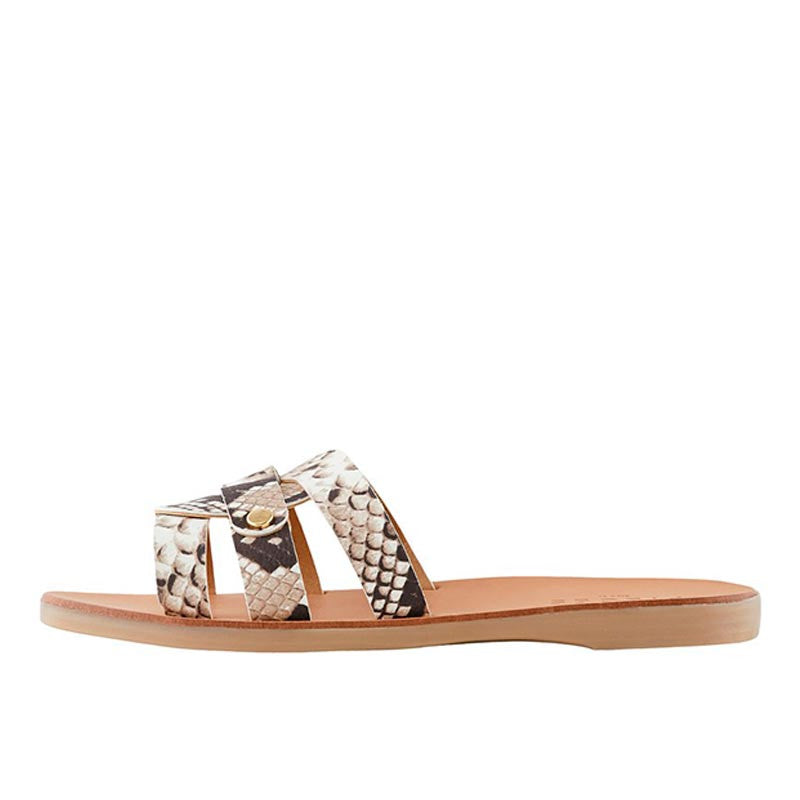 PIECES PSANILLA LEATHER SANDAL SP PRINT
