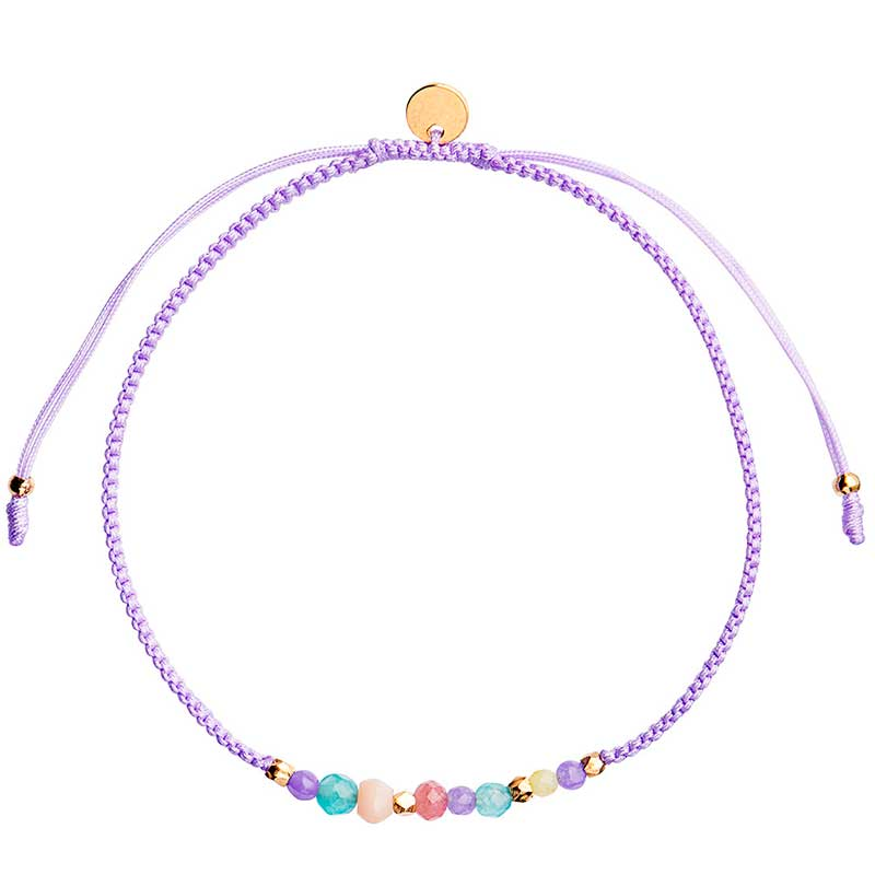 STINE A CANDY BRACELET PEARL SPINAL LILLA