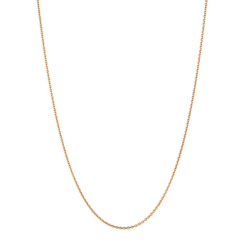 STINE A PLAIN PENDENT CHAIN NECKLACE GULD