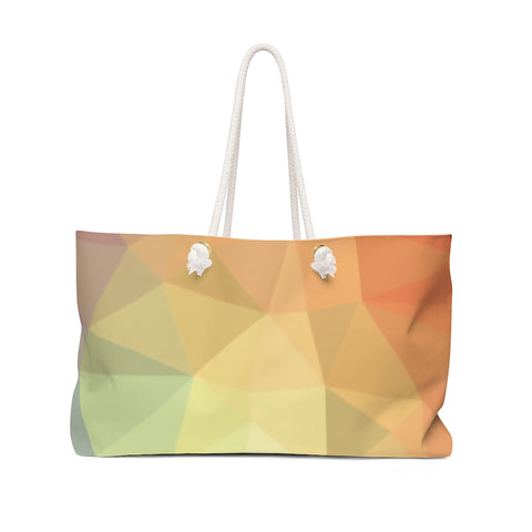 Polygon Weekender Bag (bright)