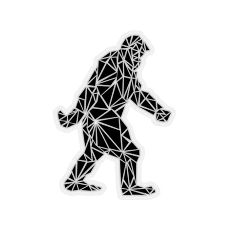 Polygon Bigfoot (black) Laptop Stickers