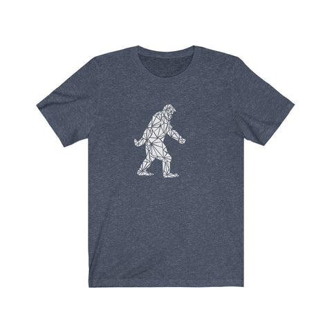 Polygon Bigfoot (white) Unisex Jersey Short Sleeve Tee