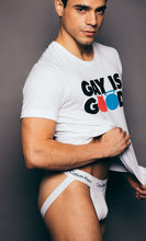 "Load image into Gallery viewer, Cockyboys  ""Gay is Good"" T-shirt"