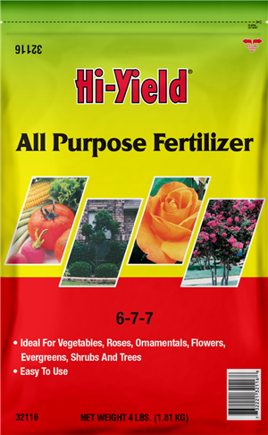 Hi-Yield ALL PURPOSE FERTILIZER 6-7-7