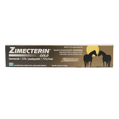 Horse Warehouse Zimecterin Gold Dewormer