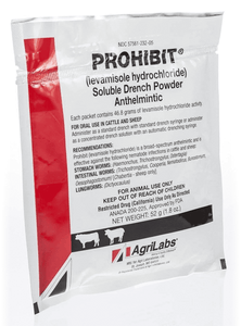 AgriLabs Prohibit® Soluble Drench Powder