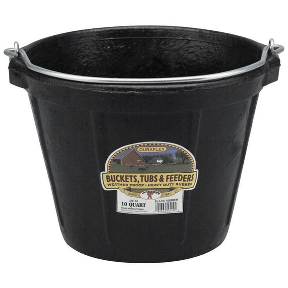 LITTLE GIANT DURAFLEX RUBBER ROUND BUCKET