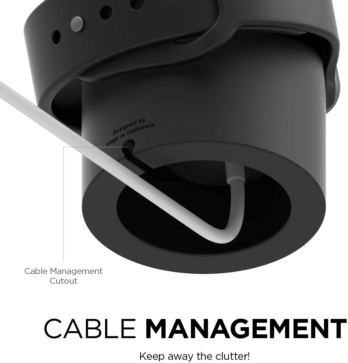 Cable Management Apple Watch Charger Stand Strapsz