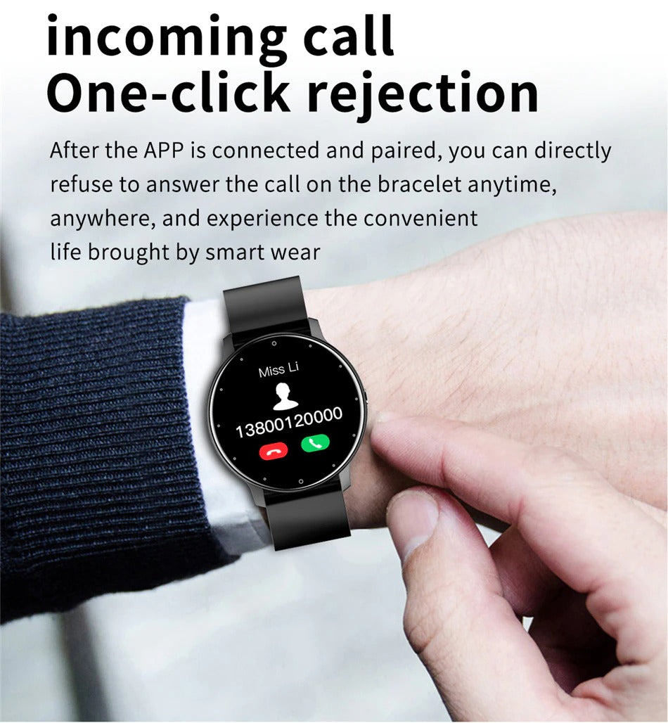 One click answering or rejecting phone calls LIFE Smart Watch