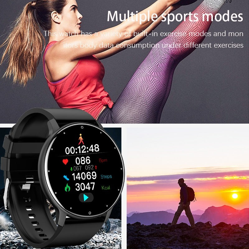 Fitness and exercise with the LIGE Smart Watch